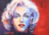 Marilyn 2017, Acrylic 70 x 50 cm