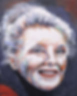 Katharine 2018, Oil 60 x 75 cm