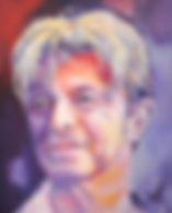 David 2018, Acrylic 60 x 75 cm