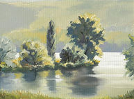 Summer at the Lake of Baldegg 1999, 40 x 30 cm