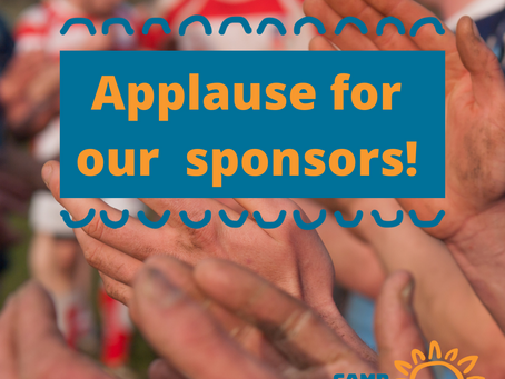Applause for Our Sponsors!