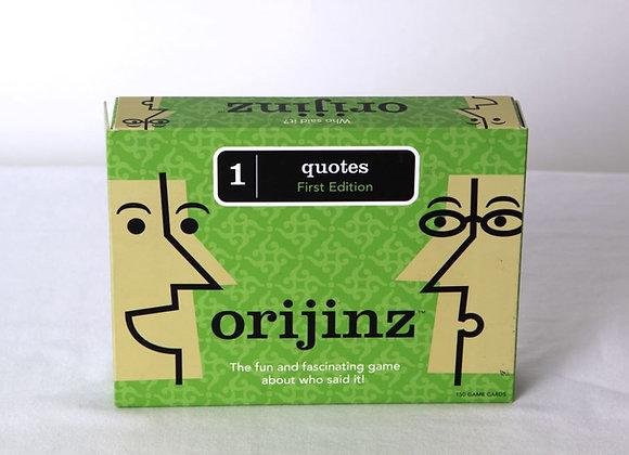 Orijinz Quotes