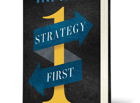 My Strategy First First Blog