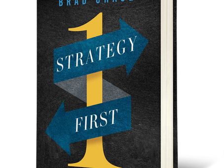 The evolution of the Strategy First book cover