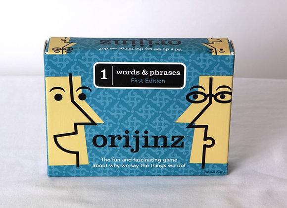 Orijinz Words & Phrases - 1st edition