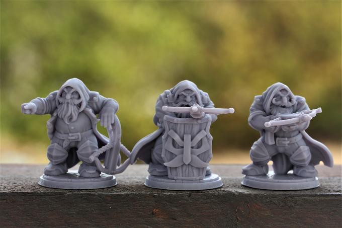 Set de 3 guerriers nains 3