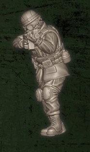 US soldat équipe Bravo 4