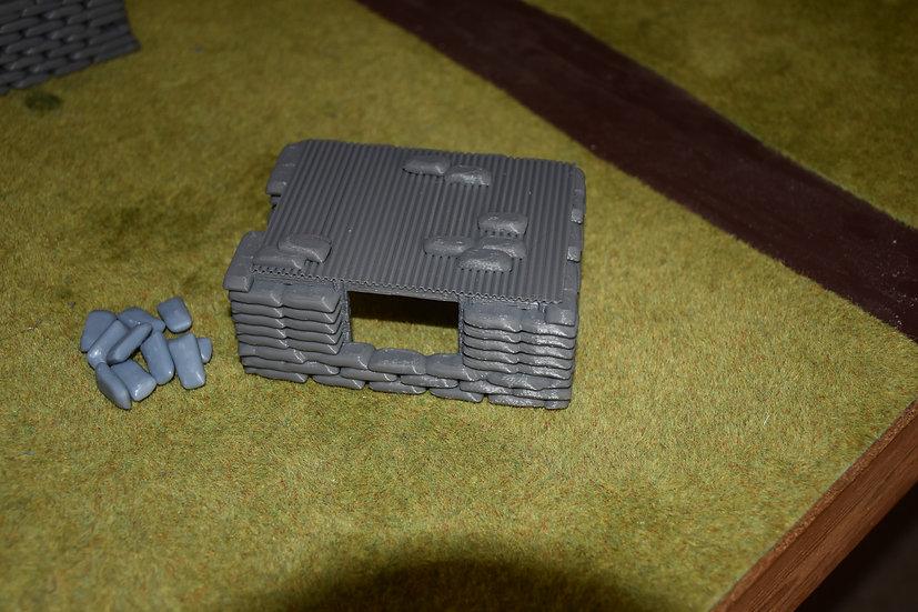 Indochine Bunker 12 x 9 cm