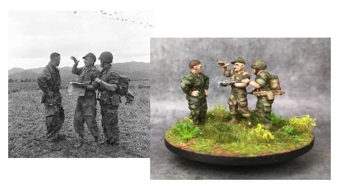 Indochine groupe de commandement (bigeard)