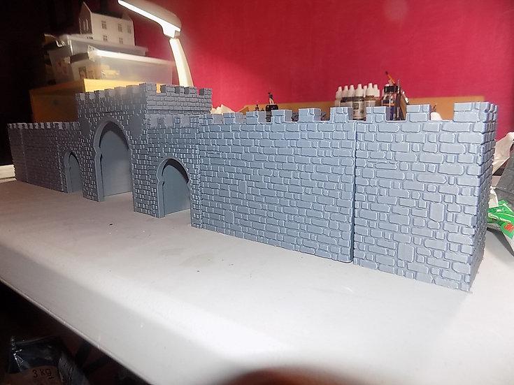 Porte médiévale arabe - mur en coin seul