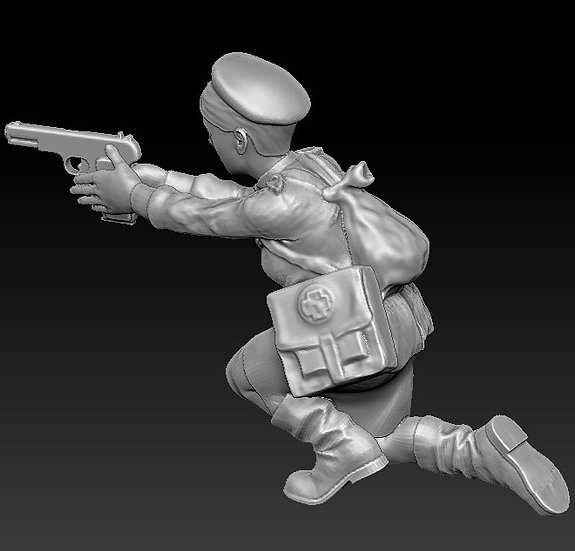 Femme Soldat russe no 02 ww2