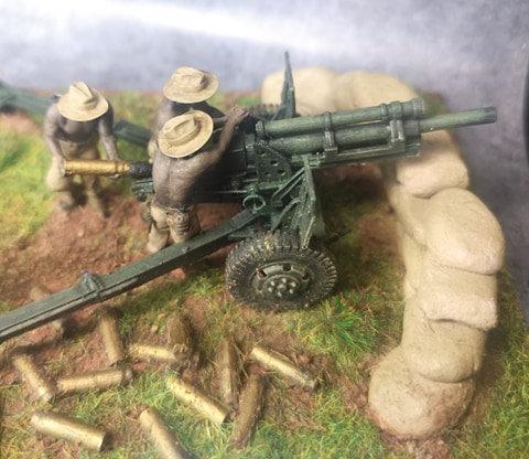 Indochine canon 105 français