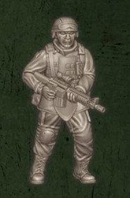 US soldat équipe Alpha 3