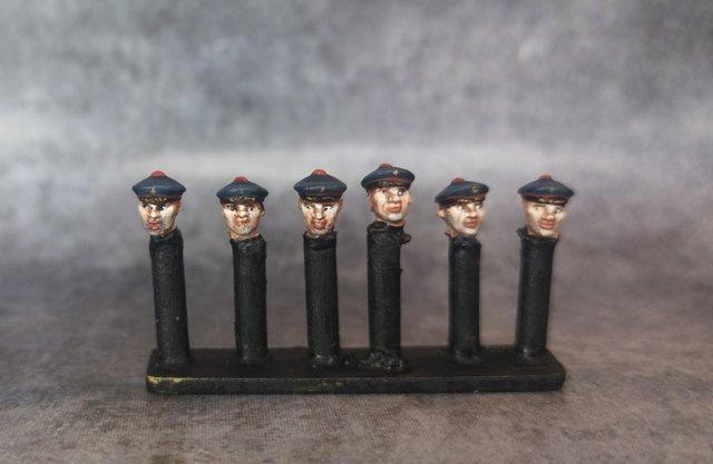 Têtes français marins