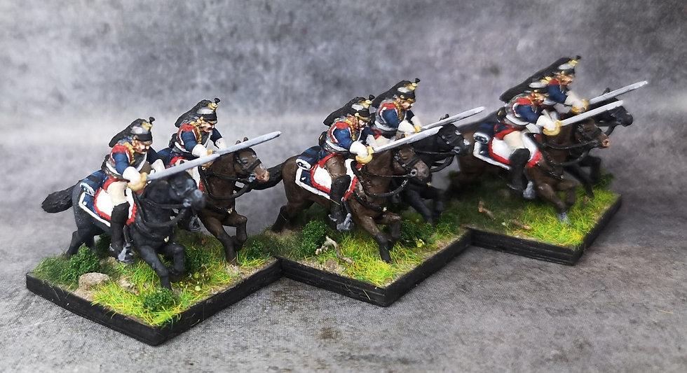 1808-1810 Cuirassiers français 18mm soclage par 2