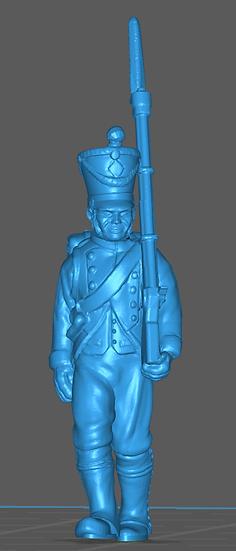 1808-1810 Infanterie de ligne française 1 18mm seul