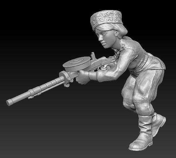 Femme Soldat russe no 09 ww2
