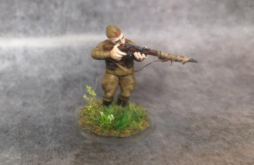 Soldat russe no 9 ww2