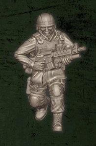 US soldat équipe Charlie 4