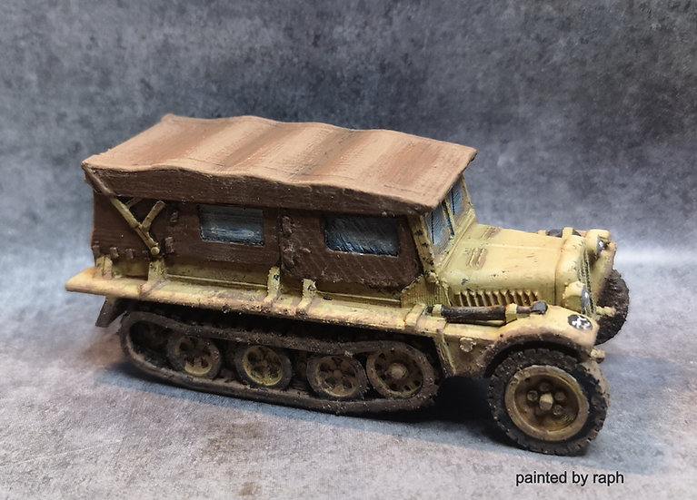 German Sdkfz 10 bâché