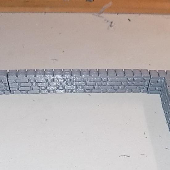 muret de 12 cm