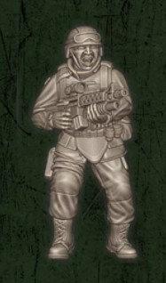 US soldat équipe Bravo 1