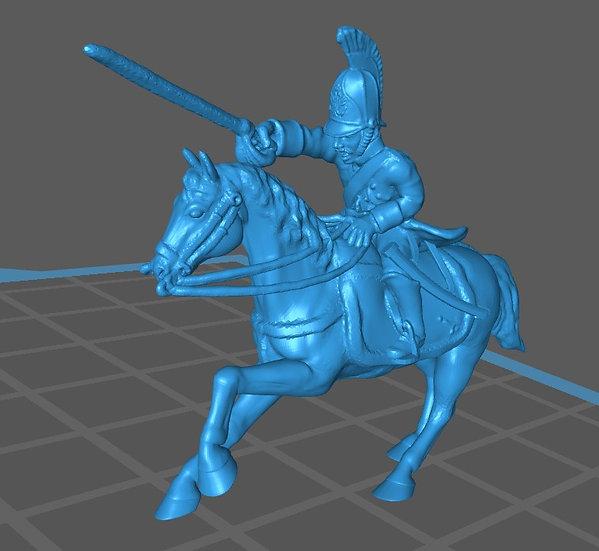 1812-1814 Dragon à cheval russe 28mm