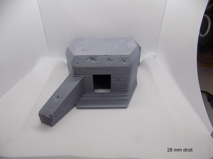Regelbaut 612 (bunker) gauche ou droit