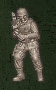 US soldat équipe Charlie 3