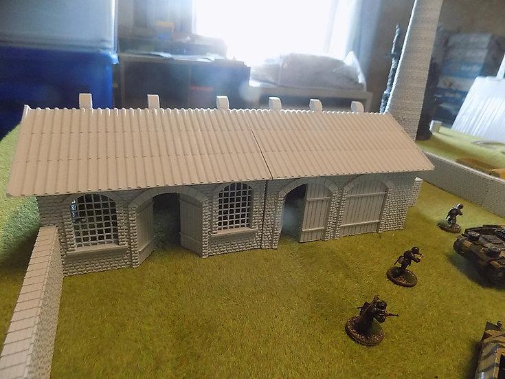 Grand hall usine WWII seul
