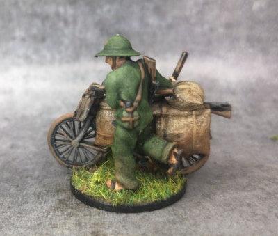 Indochine soldat viet vélo 3
