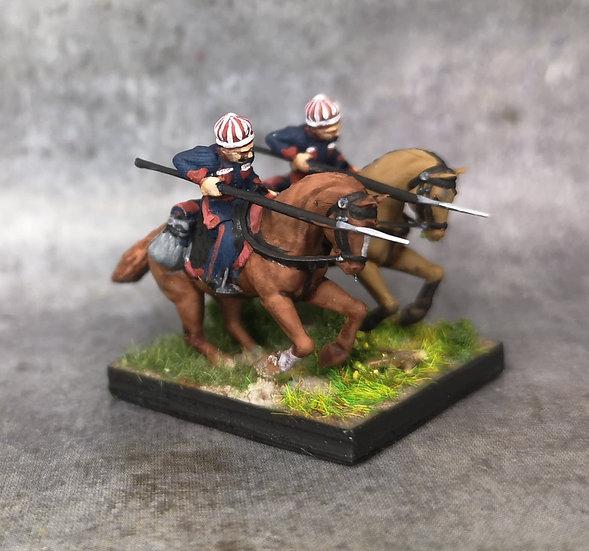 1812-1813 Krakus polonais 18mm soclage par 2