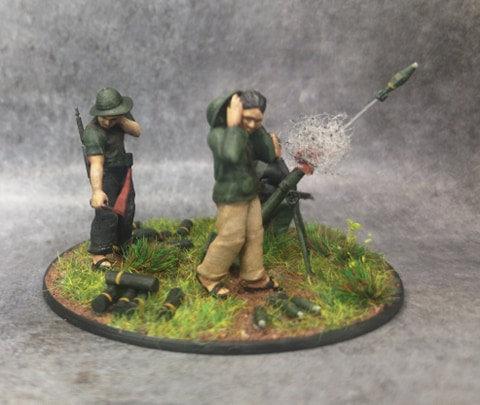 Indochine mortier 81mm viet