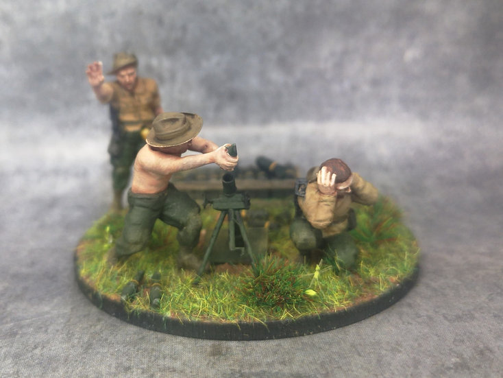 Indochine mortier 81mm  français