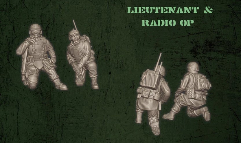 US Lieutenant et Radio