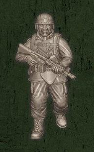 US soldat équipe Echo 2