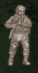 US soldat équipe Delta 4