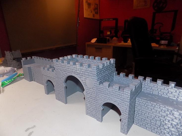 Porte médiévale arabe - grande porte seule