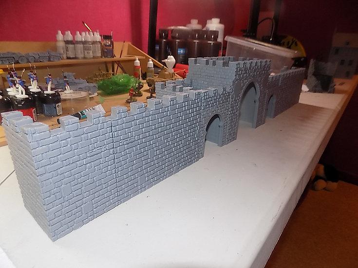 Porte médiévale arabe - mur seul