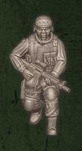 US soldat équipe Echo 3