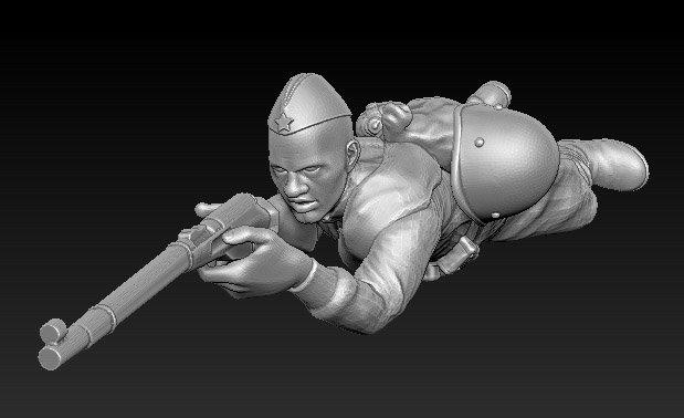 Soldat russe no 12 ww2