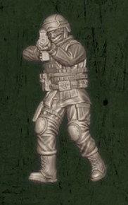US soldat équipe Alpha 2