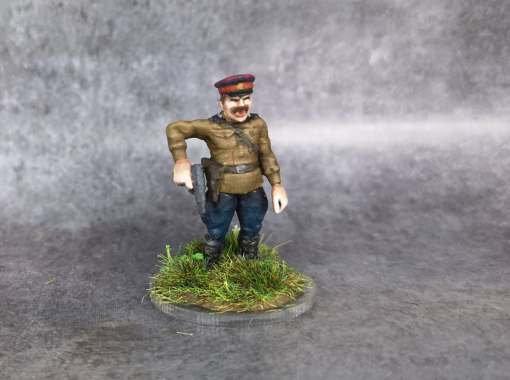 Officier russe debout ww2