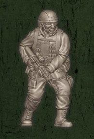 US soldat équipe Charlie 2
