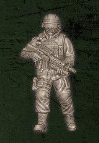 US soldat équipe Alpha 4