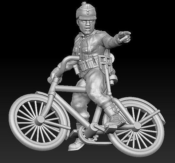 Cycliste allemand no 2 ww2