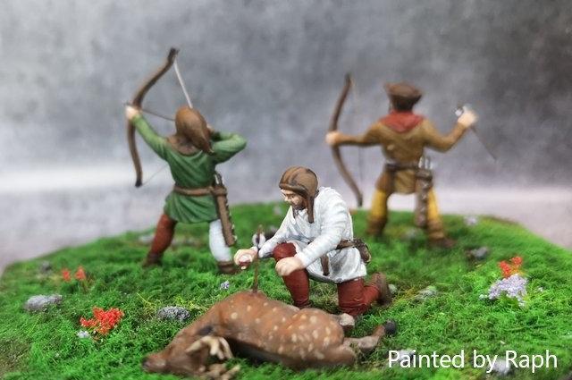 Set chasseurs 28 mm