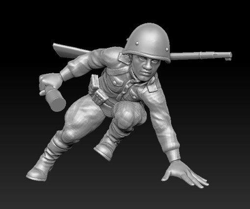 Soldat russe no 5 ww2