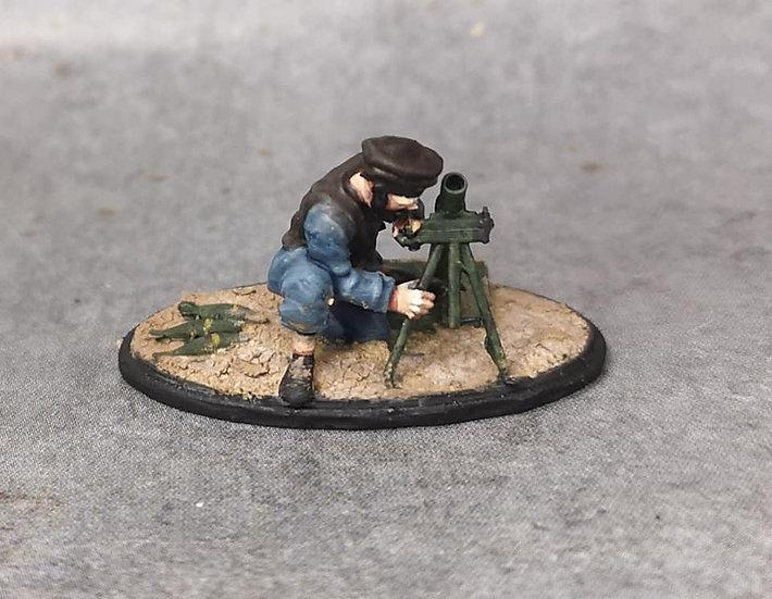 Moudjahidine 11 avec mortier