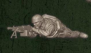 US soldat équipe Delta 1